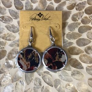 PATRICIA NASH EARRINGS - BROWNS AND RUST COLORS